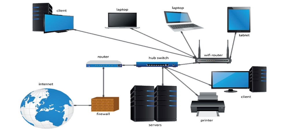 voice and data network